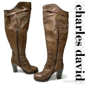 Charles David Delaware Over the Knee Boots 9.5